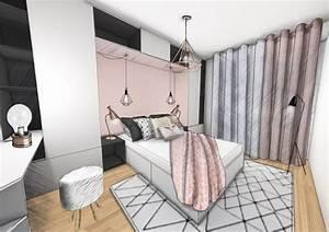 deco chambre cuivre rose 222915 gtgt emihemcom la With peindre un pan de mur en couleur 13 design peindre un mur rose dans son appart