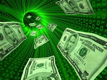 Money Business Bitcoin Remittance Electronic Internet Through