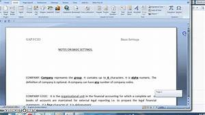 how to combine multiple word documents into one youtube With 2 word documents into one
