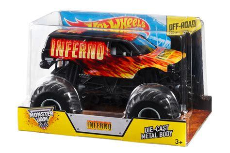 monster jam trucks toys wheels monster jam inferno 1 24 die cast vehicle