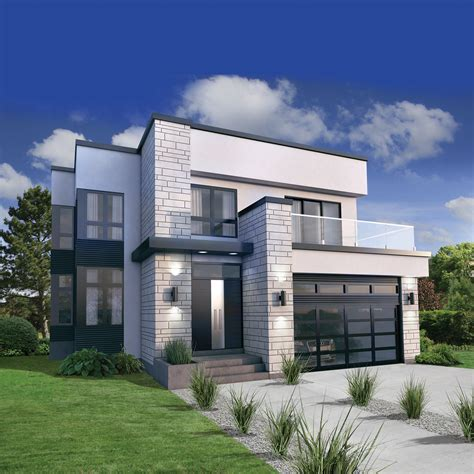 Modern Style House Plan  3 Beds 250 Baths 2370 Sqft