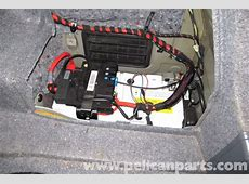 BMW E90 Battery Replacement E91, E92, E93 Pelican