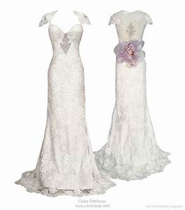 claire pettibone rock n roll bride 2009 collection With rock wedding dress