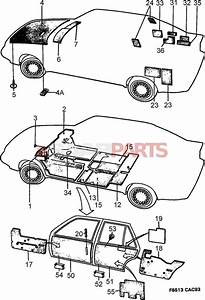 9760497 saab clamp genuine saab parts from esaabpartscom With saab kes diagram