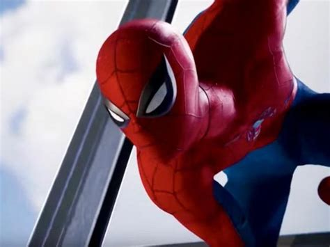 spidey wears classic costume in new spider ps4 trailer cnet