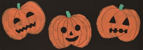 pumpkin prints halloween crafts