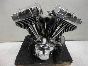 00 Harley Davidson Twin Cam 88 1450 Engine Motor