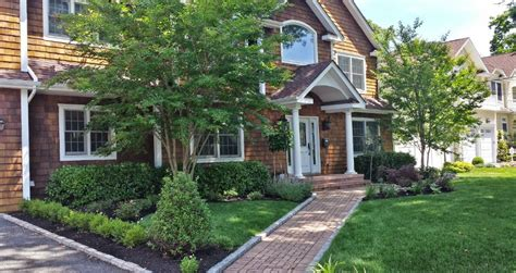 front yard landscaping house island ny