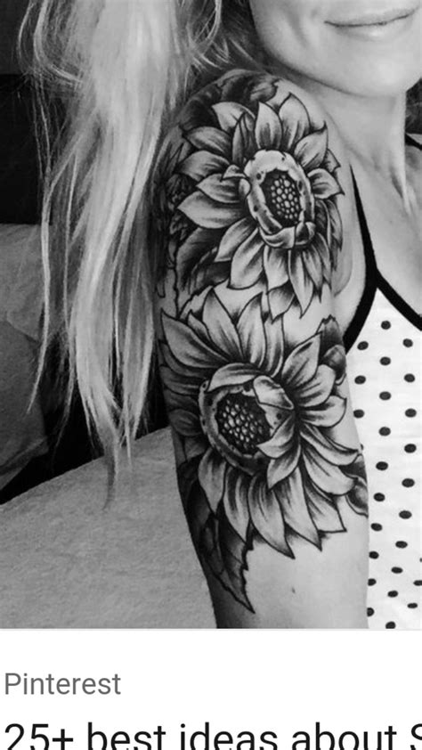 Pin by Kelsie Holton on TATTOO | Cute tattoos, Sunflower tattoos, Girl tattoos