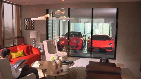 Rich People In Singapore Park Their Ferraris In The Living ...