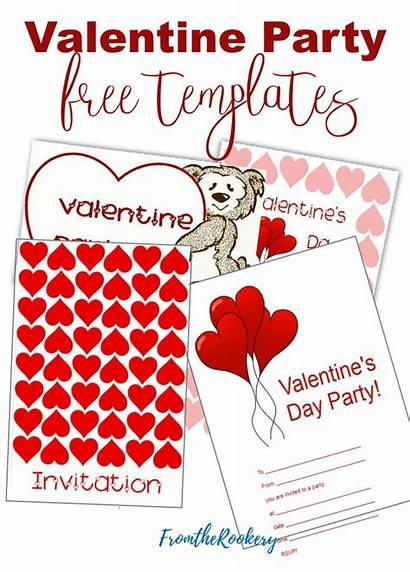 Valentine Invitations Printable Party Invites