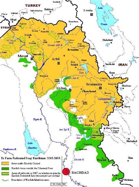 explore iraqi kurdistan map history  news