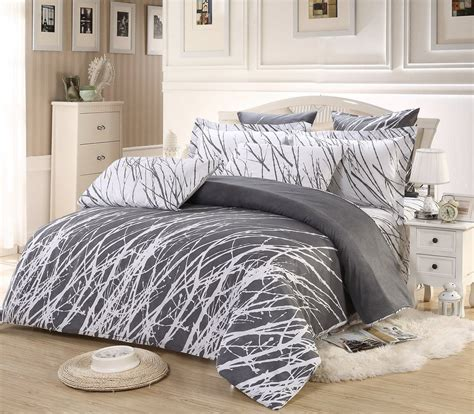 duvet cover sets 9 best grey and white duvet cover sets that won t