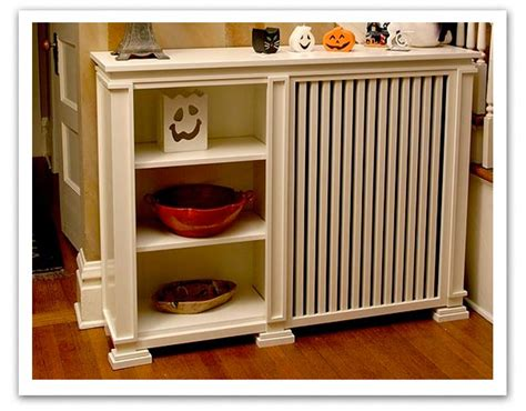 Radiator Cabinet With Shelves by Radiator Covers On Radiator Cover Modern