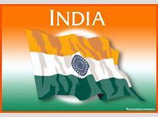 Bandera de India Banderas, tarjetas