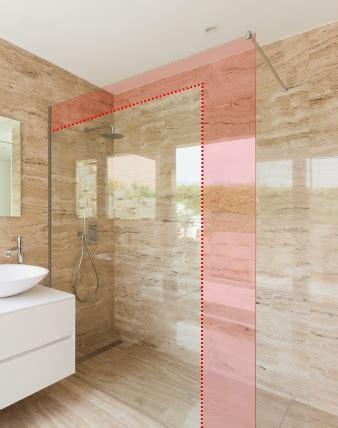 duschwand mit tür duschwand sonderanfertigung mit wandprofil combia pmpo210