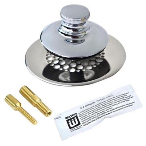 decolav sink stopper removal watco universal nufit push pull bathtub stopper with grid