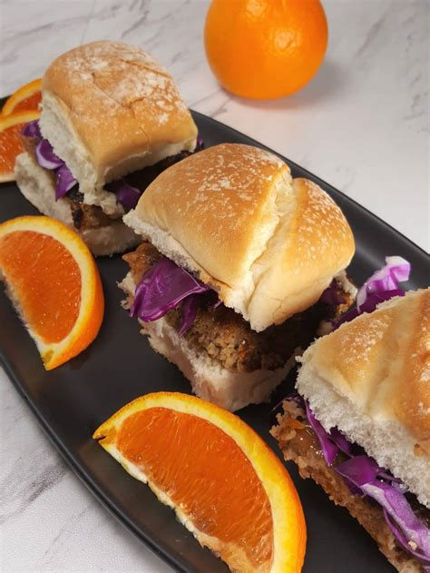 fryer air turkey burgers orange sliders recipes grilled aioli ground