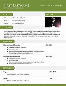 Curriculum Vitae R U00e9sum U00e9 Template In  Doc Format  897  U2013 903