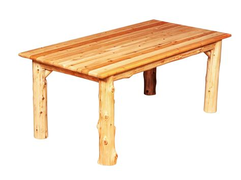 30323 log dining table best signature rectangle indoor log dining table