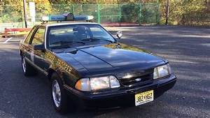 1991 Mustang SSP For Sale Florida Highway Patrol - YouTube