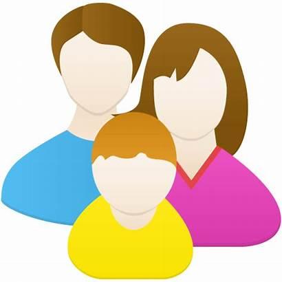 Icon Keluarga Familia Icono Icons Parents Ikon