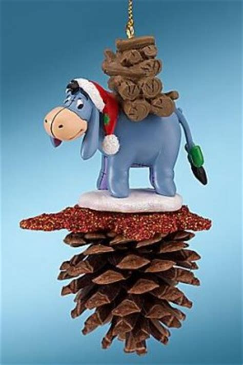 eeyore pine cone ornament   christmas collection