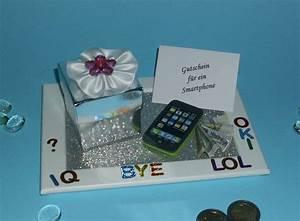 Gutschein Dein Handy : geldgeschenk gutschein handy smartphone geschenkideen kommunion pinterest geschenke ~ Markanthonyermac.com Haus und Dekorationen