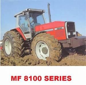 Massey Ferguson Mf8100 Series Service Repair Manual