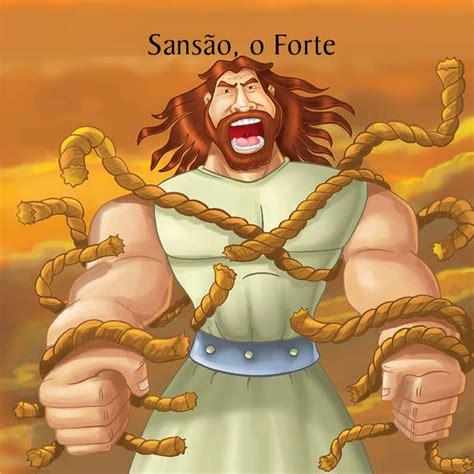 História Bíblica Infantil Sansão e Dalila