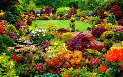 Large Flower Garden Design : Rberrylaw Beautiful Flower