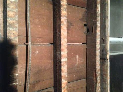 insulating balloon frame  brick veneer doityourself
