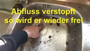 Abfluss Verstopft Waschbecken : waschbecken abfluss verstopft hier gibts schnelle und einfach hilfe youtube ~ Sanjose-hotels-ca.com Haus und Dekorationen