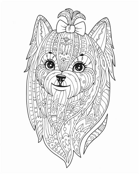 Mandala Kleurplaat Dieren by Kleurplaten Dieren Honden