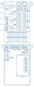 Ford Contour 1998 Central Junction Fuse Box  Block Circuit Breaker Diagram  U00bb Carfusebox