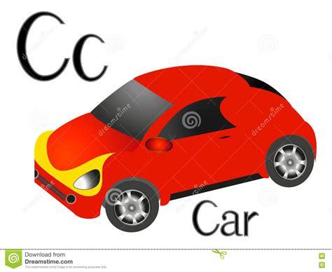 Ilustração Para Crianças De Ensino O Alfabeto Inglês Com