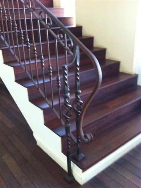 cr 233 ation d une re d escalier en fer forg 233