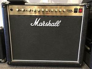 Used Marshall Dsl40c 40 Watt Tube Combo Amp W   12 U0026quot