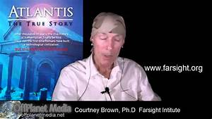 Courtney Brown-Part 2: Remote Viewing Atlantis - YouTube