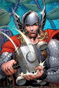Thor Marvel Comic Book Heroes