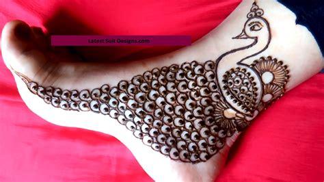 Simple Leg Mehndi Designs Latest , Hd Wallpapers Simple