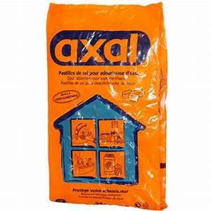 Sel Adoucisseur Axal : sel adoucisseur tous les produits adoucisseurs prixing ~ Nature-et-papiers.com Idées de Décoration