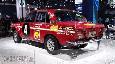 Datsun 510 Rally by 2016 Auto Expo Datsun Showcases The Bluebird 1600sss And