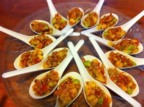 easy canapes and nibbles prawn canapes recipe binder
