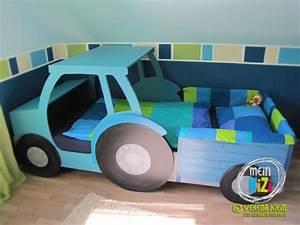 Autobett Selber Bauen : kinderzimmer 39 traktor baustellenzimmer 39 meintraumhaus zimmerschau ~ Watch28wear.com Haus und Dekorationen