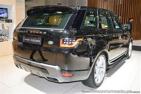 2018 Range Rover Sport At Dubai Motor Show 2017 Rear Three