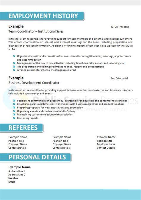 Ensure Customer Satisfaction Resume by Conservative Blue Resume Design 187 Service Resumes