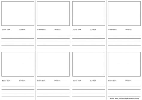 storyboard template pdf 6 audio storyboard templates free premium templates