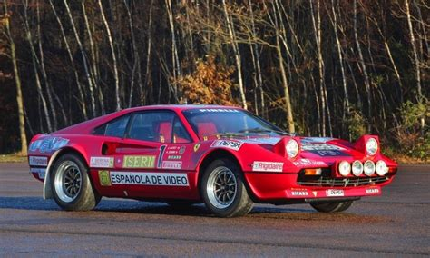 ferrari  gtb group  rally car