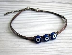 Men's Evil eye Bracelet Men's protection Bracelet